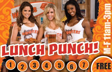 Hooters promotion
