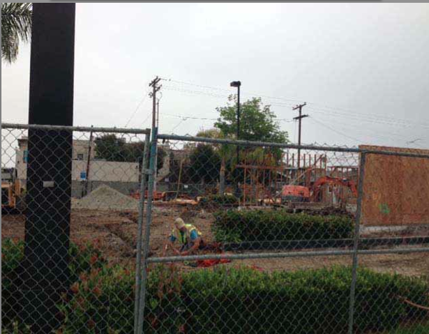 Photo of restaurant rebuild taken from lawsuit