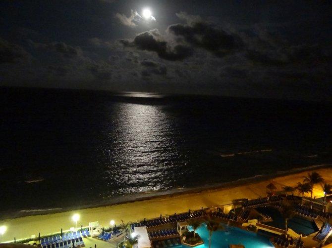 Super moon, Riviera Maya
