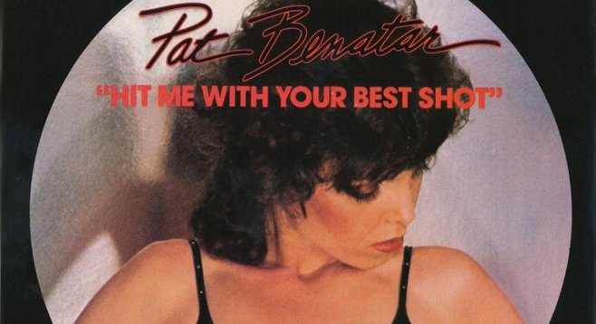 I couldn't help but believe I was going to be a rock star like Pat Benatar.