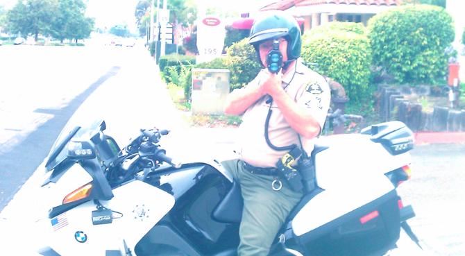 Officer Tim Petrachek (photo by Steve Amster)