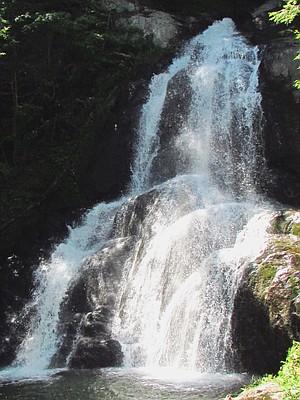 Moss Glen Falls.
