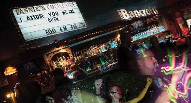 The Bancroft opened in the site of the defunct dive Fannie's, and the Spring Valley spot is now a punk and hardcore haven.