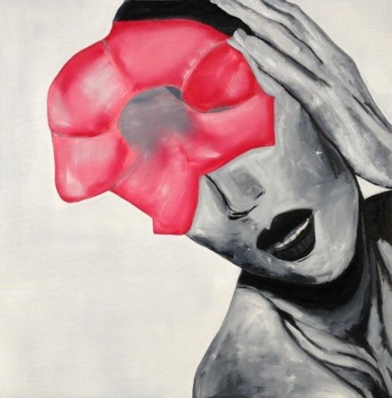 Brian Meanswell explores body language and flowers in Amorous Abyss.