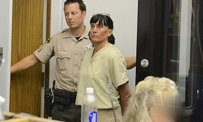 Susan Seibert, 49, headed off to prison. Photo Weatherston.