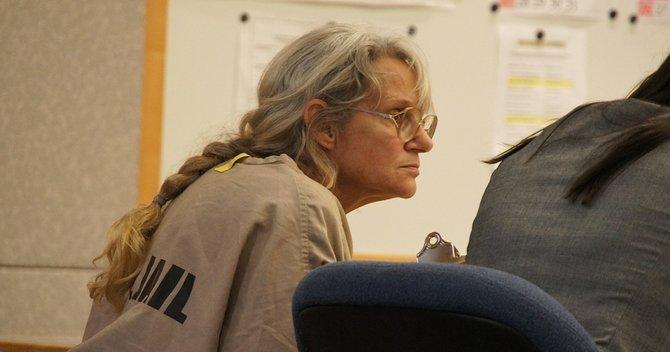 Deborah Gore pleads not-guilty. Photo Eva.