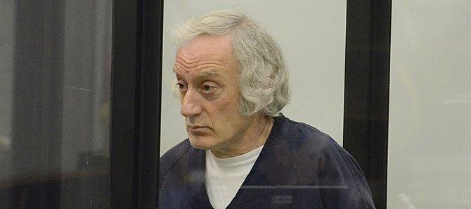 Former dentist Edward Bodek during sentencing. Photo Weatherston.