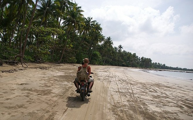 Journey to Ngwe Saung Beach.
