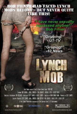 "Filner at resignation speech: ""The hysteria that has been created...is the hysteria of a lynch mob. I have faced lynch mobs many times before."