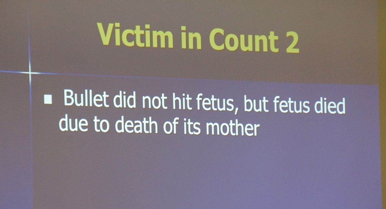 Jury in San Diego County will decide if Cepeda intentionally shot his pregnant girlfriend. Photo Eva.