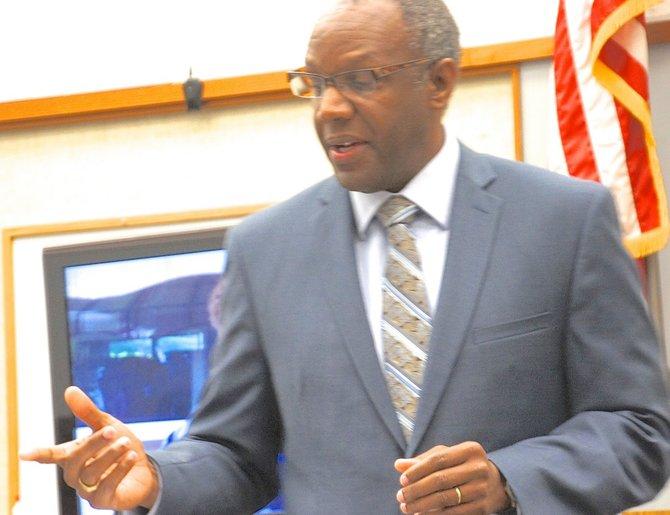 Defense attorney Michael Washington. Photo Eva.