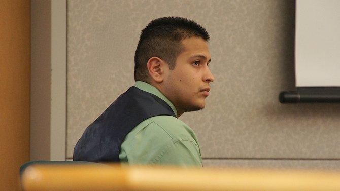 Ruben Anthony Cepeda, 22, pleads not-guilty. Photo Eva.