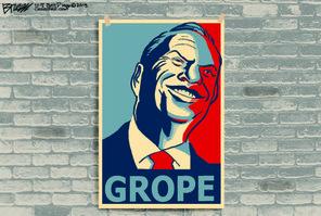 """I believe in grope."""