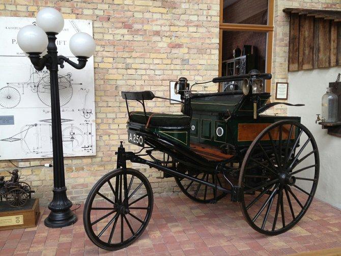 2. Ladenburg Carl Benz Museum. Original 1888 prototype