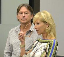 Charles n Linda Conover in court.