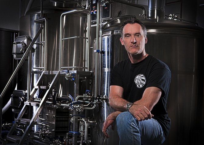 New English Brewing Company owner and brewer Simon Lacey