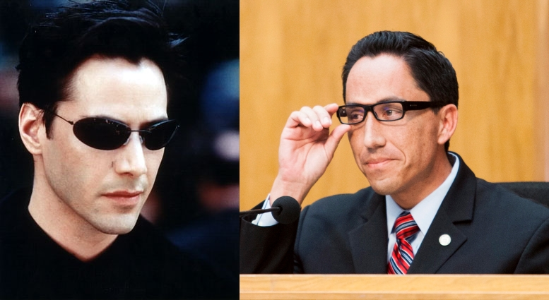 Keanu Reeves as Todd Gloria.