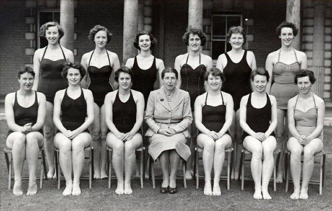 The Platt College Swim Team.