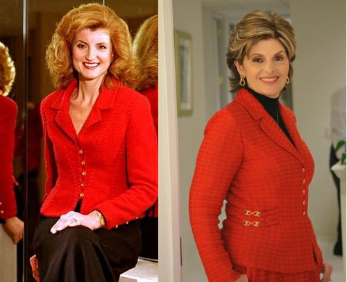 Arianna Huffington as Gloria Allred.