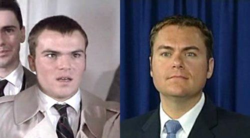 The cost of a computer generated Trawler would be overwhelming, so I'm amenable to Anders Wright's nomination of Jack Black as DeMaio.