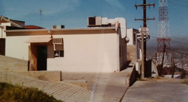 """In keeping with """"the whole pirate-radio aspect,"""" 91X used this Tijuana-based broadcast station"""