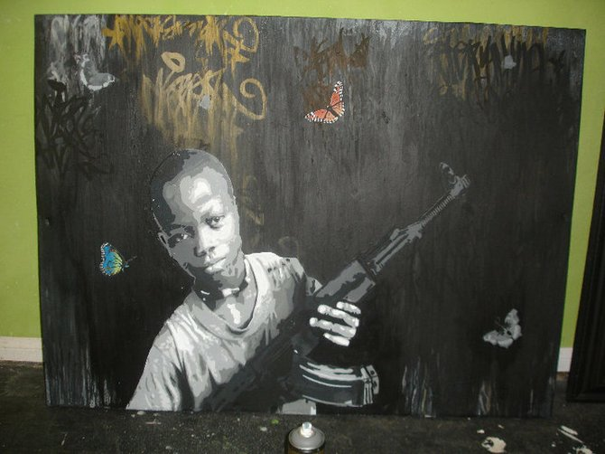 Just because nobody quite got what Charles Page was driving at doesn't lessen the impact of his portraits of child soldiers.