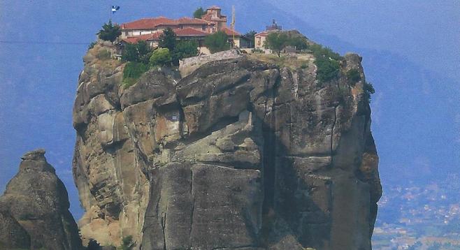 Meteora, Greece, monastery.