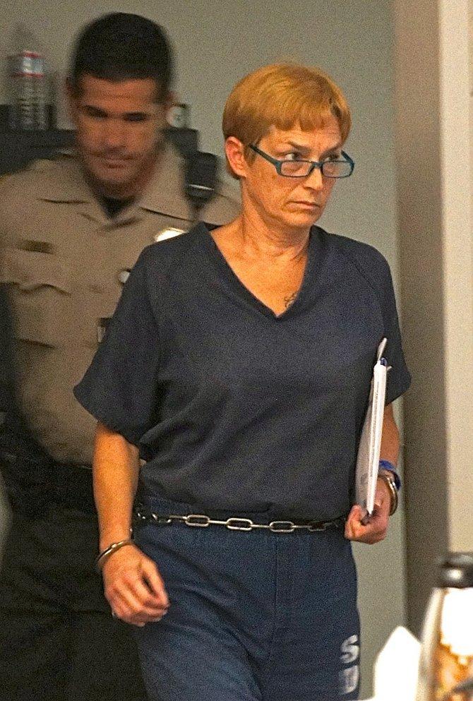 Shelley Thorpe in custody.