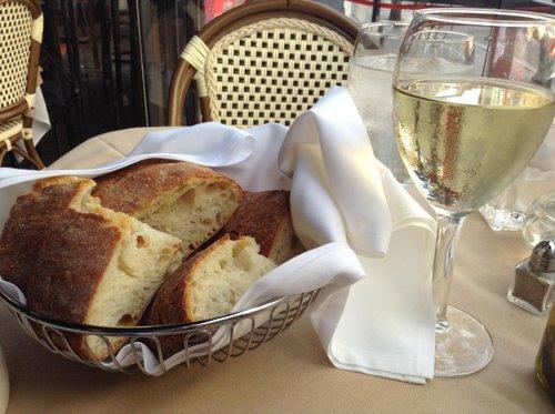 Bread and wine are half the fun