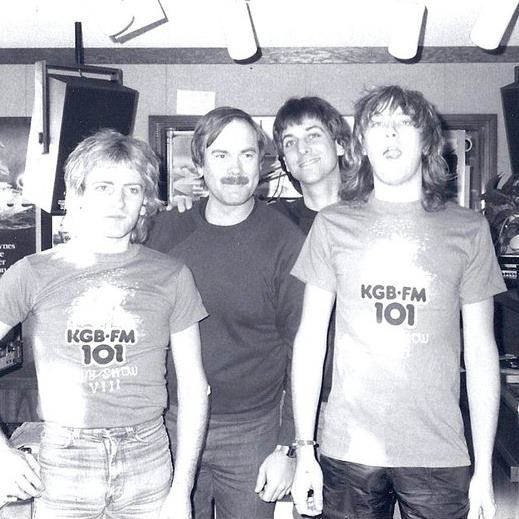 Jim McInnes interviewed members of Def Leppard in 1983. Cool t shirts.