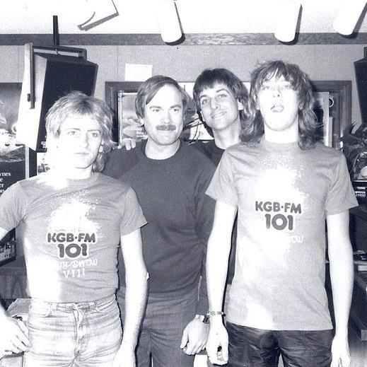 Jim McInnes interviewed members of Def Leppard in 1983. Cool t shirts.
