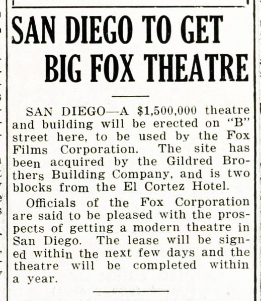 EXHIBITOR'S DAILY REVIEW - August 7, 1928.