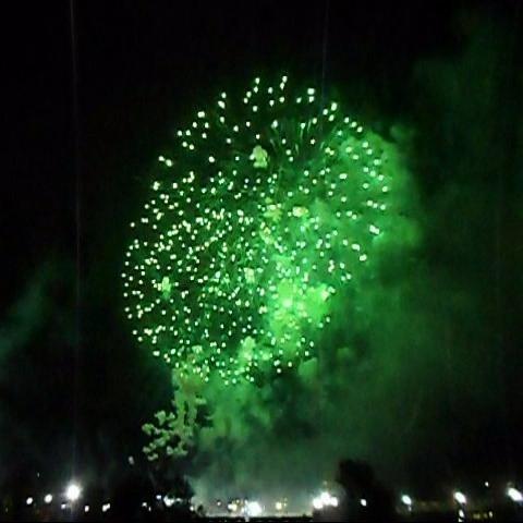 KGB Sky Show fireworks