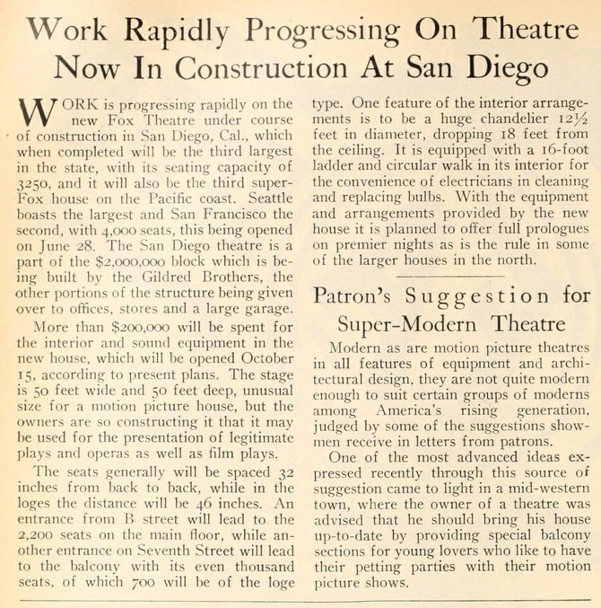 MOTION PICTURE NEWS - July 6, 1929.