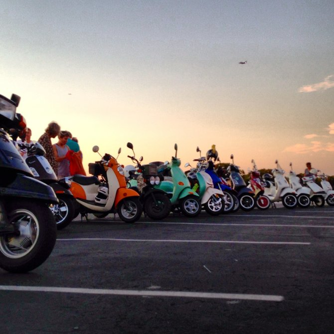 Had a wonderful time cruising my scoot around with my fellow Sqooterheads