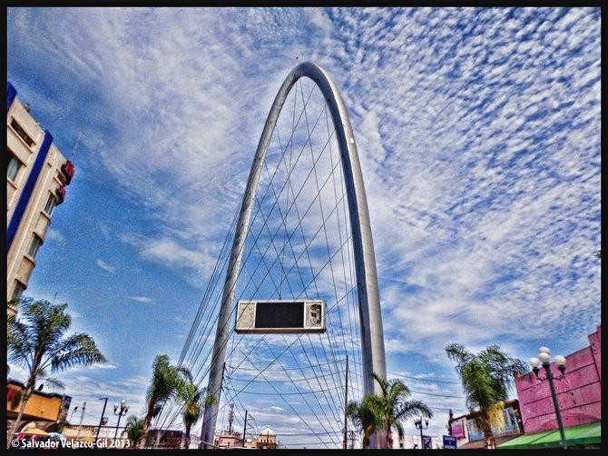 Neighborhood Photos TIJUANA,BAJA CALIFORNIA,MEXICO Monumental Arch at North end of Avenida Revolucion in Tijuana / Arco Monumental en lado Norte de Avenida Revolucion en Tijuana.