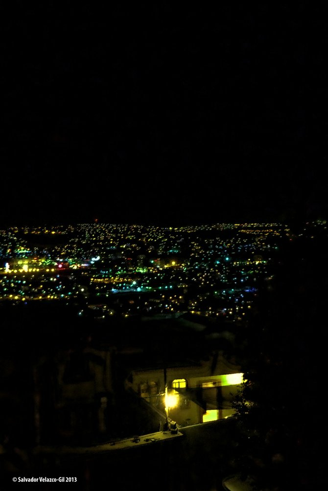 Neighborhood Photos TIJUANA,BAJA CALIFORNIA,MEXICO Night view of Tijuana as seen from Otay section/ Vista noctura de Tijuana desde area de Otay.
