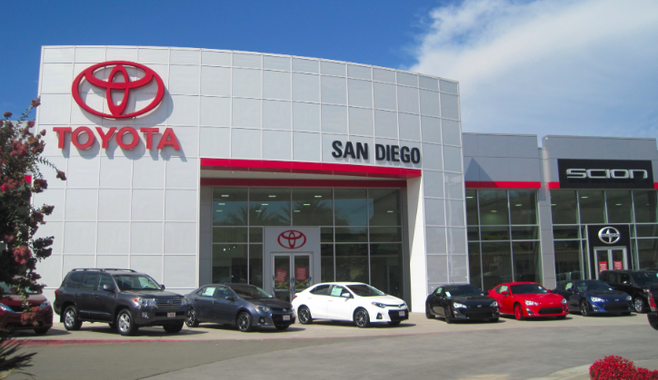 Toyota Of San Diego >> Future Road In Grantville To Go Through Toyota San Diego San