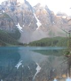 Banff National Park's Lake Moraine