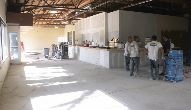 The tasting bar and its 50 taps will be front and center, the first thing visitors see after entering the building.