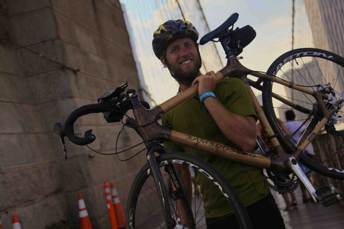 Stolen bamboo bike