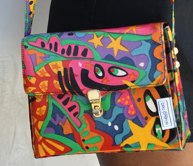 Anastasia Balom wore a vintage purse