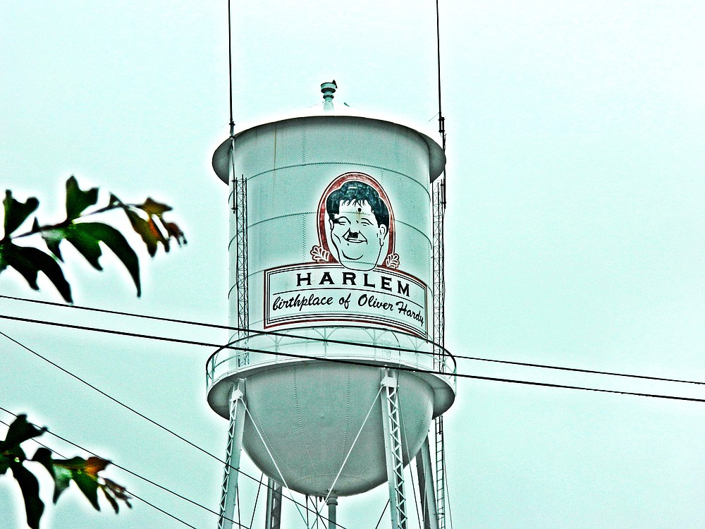 Water tower in Homer, GA.