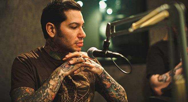 Rocker/radio host Mike Herrera (MxPx) will, on Saturday, perform and do a Q&A at this year's San Diego Music Thing.