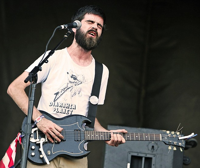 Punk-rawk powerhouse Titus Andronicus will take the stage at the Irenic on Friday the 13th.