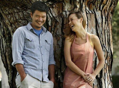 Destin Cretton and Brie Larson.