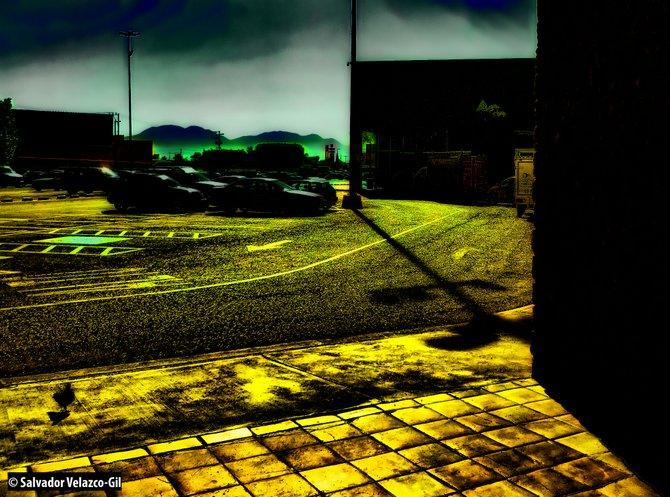 Neighborhood Photos TIJUANA,BAJA CALIFORNIA,MEXICO Very early at Plaza Otay /Muy tempranito en Plaza Otay