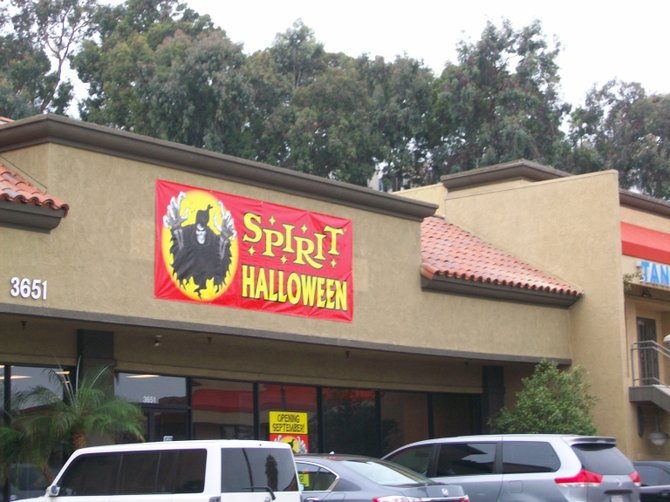 Halloween must be just around the corner if a Spirit store is set to open in the Midway District.