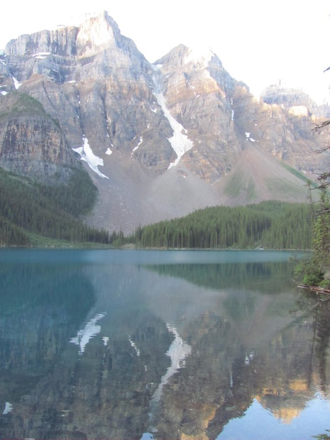 Banff's Moraine Lake.