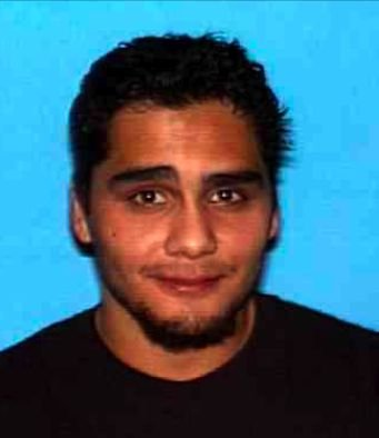 Photo of Lucero released when he was a fugitive.